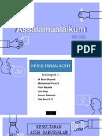 Kesultanan Aceh Darussalam