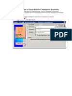 Steps to Develop Report in Oracle Business Intelligence Discoverer