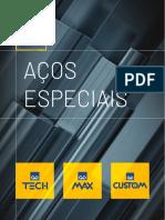 Catalago Aços Especiais Brasil