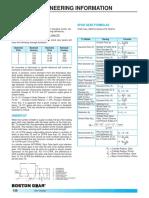 Spur Gears-backlash Undercut Formulas
