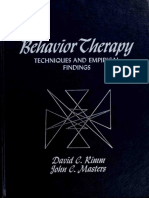 Rimm _ Masters (1974). Behavior therapy techniques and empirical findings.pdf