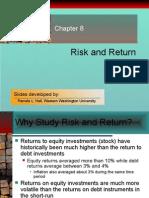 Chapter 08 Risk & Return
