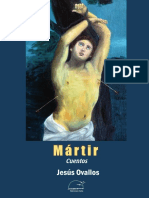 Mártir. Cuentos.  Jesús Ovallos.  Ediciones Exilio. Agosto 2018