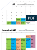 Cronograma de Estudos IFPB - Diane