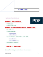 Rapport Stage GSM