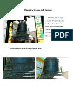Bell of Nuestra Senora Del Carmen