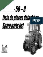 Kioti Daedong DK50 Tractor Parts Catalogue Manual.pdf