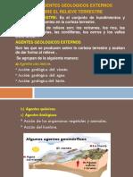Accion de Agentes Geologicos Externos