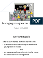 Managing Young Learner Classrooms