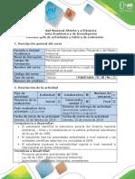 Guía de Actividades y Rubrica de Evaluación - Fase 1 - SINA (Ley 99 de 1993) y Legislación Ambiental Del Colombia