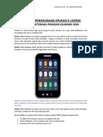Panduan Aplikasi AAJI E-License Untuk Agen