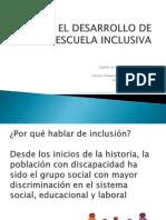 Hacia El Desarrollo de Una Escuela Inclusiva Ppt Clase 2019 Marzo