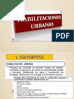 Hablitacion urbana - INVESTIGACIÓN