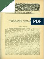 GB 1961nr7-8 Pr. Prof. P. VINTILESCU, Vohodul Si Partea Finala a Vecerniei, Slujba Litiei Si a Miezonopticii