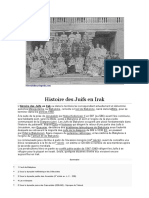 Histoire Des Juifs en Irak