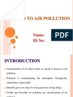 Air Pollution Ppt
