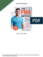 Faisal Abdalla the Pma Method PDF Mobi Epub