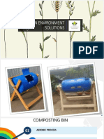 Marketing of compost bin