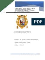 CONDUCTORES ELECTRICOS - tarea