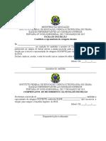 Ficha Inscrição Candidatos Atualizada
