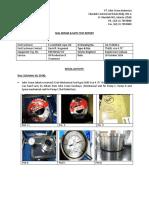 Seal Repair and Static Test Report - EMCL