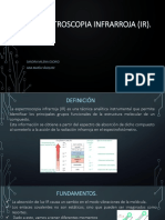 Espectroscopia INFRARROJA (IR)