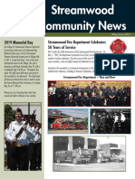 Streamwood Community News, May 2019