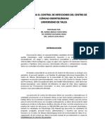 Manual de Control de Infecciones 2019