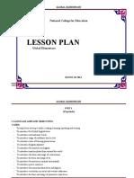 TOTAL- Lesson Plan Revise