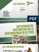 ANTECEDENYES DE DIAPOSITIVAS
