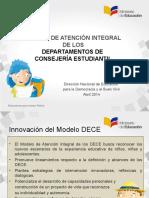 Presentación Modelo DECE