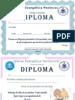 Diplomas Grupo Niños