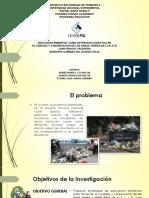 Presentación sobre educación ambiental