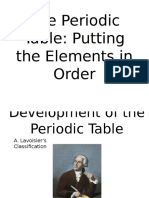 The Period Table PPT