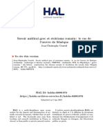 Courtil 2019 - Savoir médical grec et stoïcisme romain