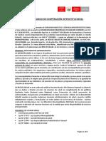 Modelo de Convenio Inter Intitucional RSC 2019