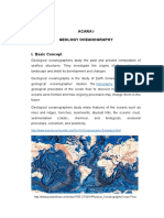 Acara i Geological Oceanography