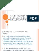 Estudo A APOSTASIA NO FIM DOS TEMPOS.pptx