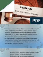 History of Environmental Laws