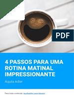 4 passos para uma rotina matinal impressionante - Áquila Adler.pdf