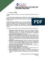 Principales Indicaciones Para Las Pymes Por Rt -Presentacin Consultivo 05.11.2014