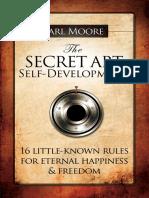 The Secret Art of Self-Development - R16844525