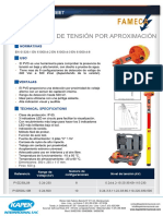 Fameca Detector Tension Pvd
