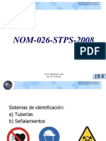 Legislacion en Seguridad Modulo 5 Nom-026 a 031-Stps