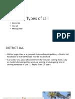 Types of Jail