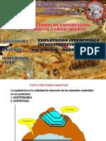 Explotacion Superficial e Infraestructura Minera