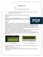 Expt No 10 - LCD msg display.docx