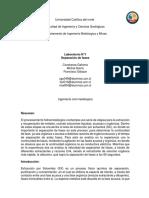 Informe Lab 1 Hidro 2