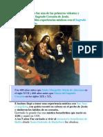 Santa Gertrudis fue una de las primeras videntes y propulsoras del Sagrado Corazón de Jesús.docx