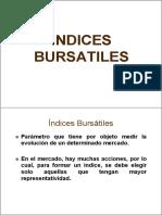 Los Indices Bursátiles